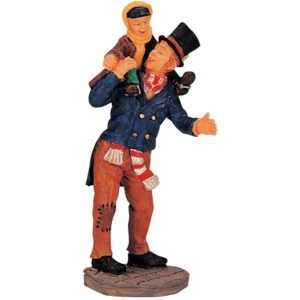 bob cratchit and tiny tim 02403 lemax