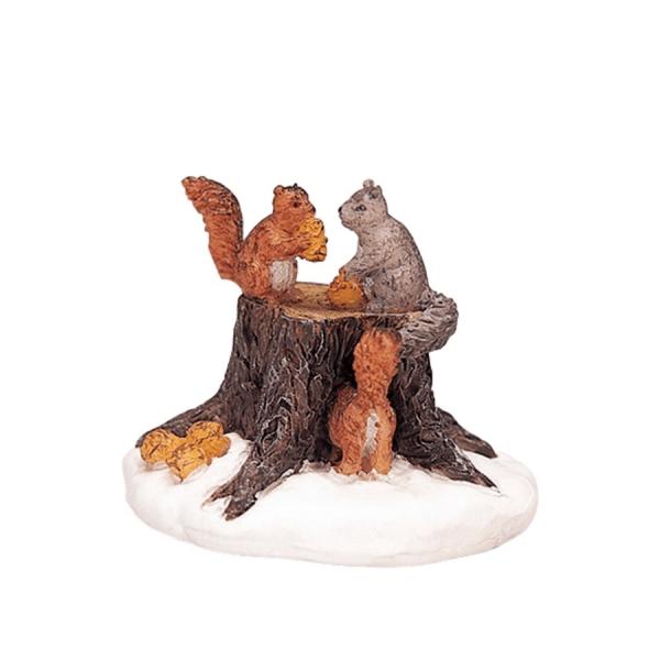 chipmunks 32693 scoiattoli lemax