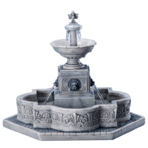 modular plaza fountain fontana 64061 lemax