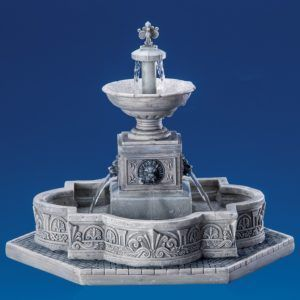 modular plaza-fountain-fontana-64061-lemax