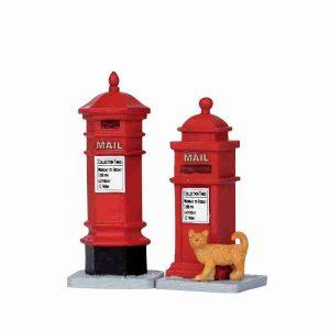 victorian mailboxes-cassette-postali-14362-lemax