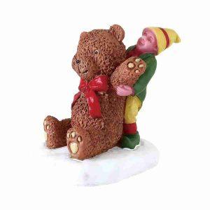 big bear elfo orso gigante 72554-lemax