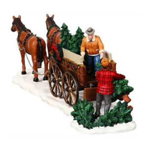 christmas tree wagon-43451-lemax