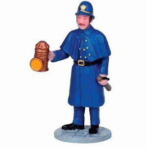 nighttime patrol poliziotto