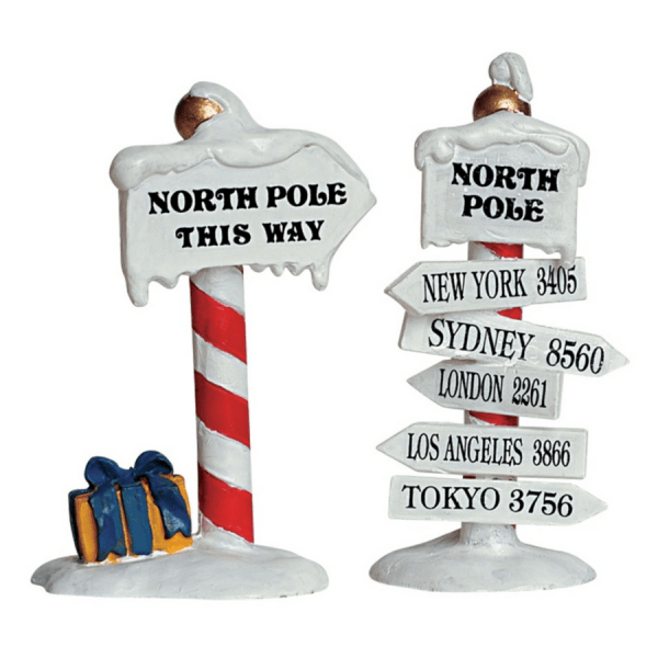 north pole signs-64455-lemax