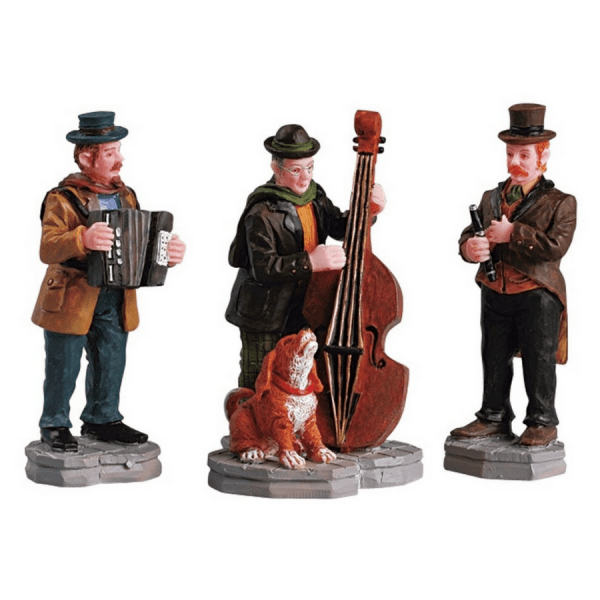 streetside trio set 52035-lemax-villaggio