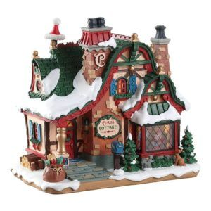 the claus cottage-75292-lemax