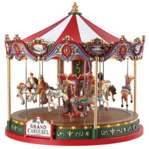 the grand carousel giostra 84349-lemax