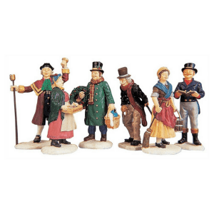 village people figurines 92356-lemax