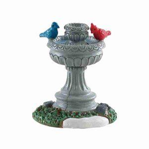 bird fountain 84385 villaggio lemax