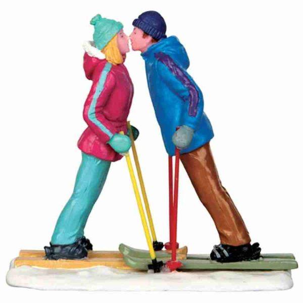 first ski date lemax 42269 villaggio