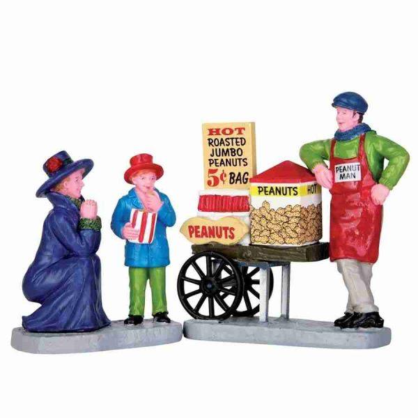 roasted peanut treats villaggio lemax 62453