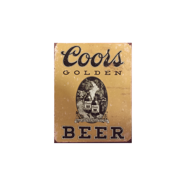 coors-golden vintage 1648 insegna