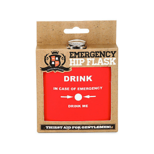 fiaschetta emergency hip flask 5 oz