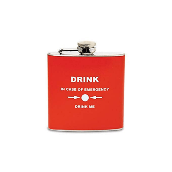 fiaschetta emergency hip flask 5-oz