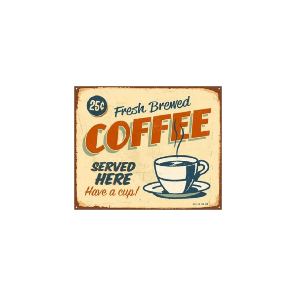 fresh brewed coffee 19801 vintage
