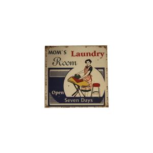 laundry mom room insegna