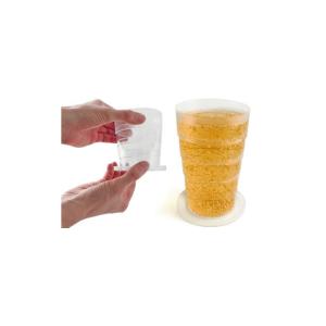 pocket pint bicchiere pieghevole