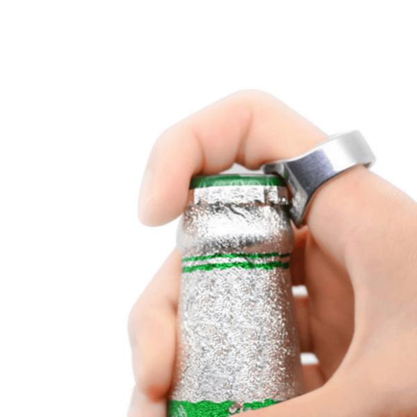 bottle opener ring birra party