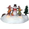 the merry snowman lelax 84776