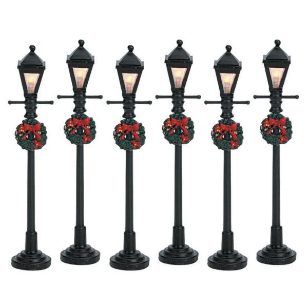 gas lantern street lamp 64499 lemax