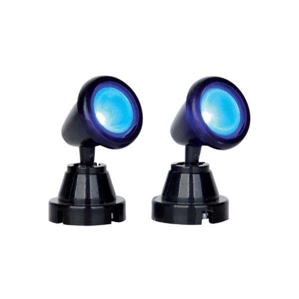 round spot light blue 54945 lemax