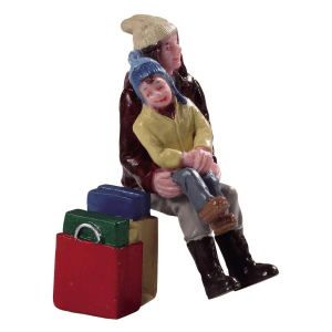 christmas shopping break lemax 92766