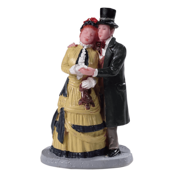dickens couple lemax 92772