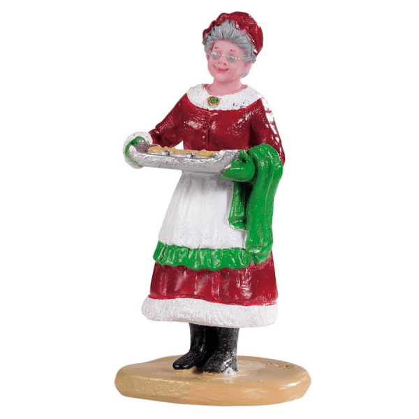 mrs claus cookies 92759 lemax