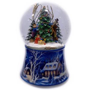 snowball decorare 48083 snowglobe