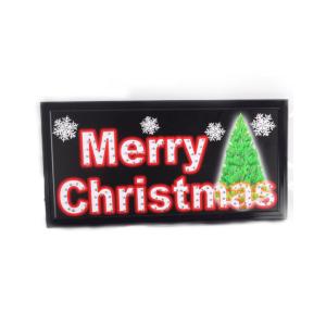 led sign merry christmas 199772