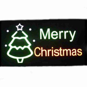 led sign merry christmas 199789