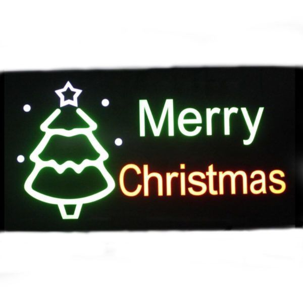 led sign merry christmas 199789