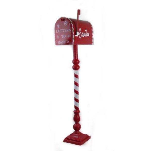 mailbox red 199024 lettere natale