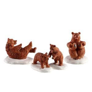 bear family snow day 02943 lemax