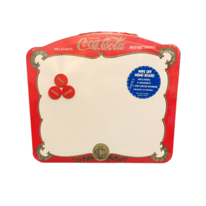 magnetic memo board coca cola