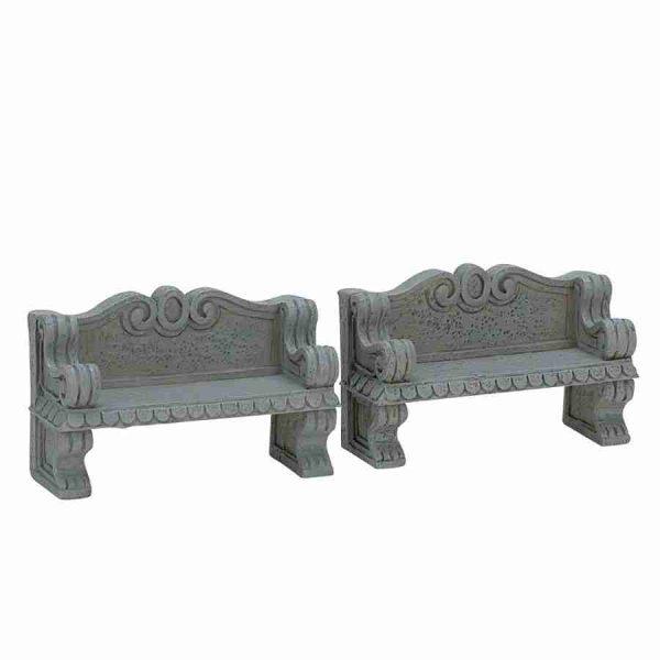 stone bench 74612 lemax