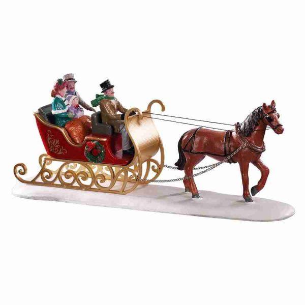 victorian sleigh ride 93433 lemax