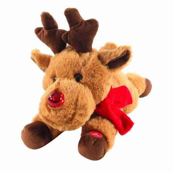 animated reindeer peluche