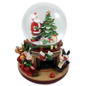 snowball carillon camino babbo natale regali