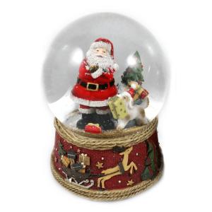 Carillon santa claus regali