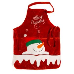 grembiule snowman regalo natale